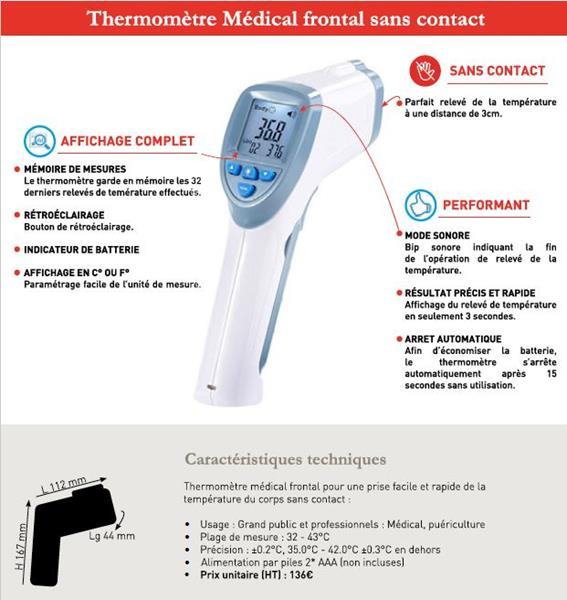 THERMOMETRE MEDICAL